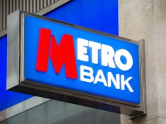 Metro Bank said it booked more than £40 million in costs for speeding up its move out of its London headquarters (Tim Goode/PA)