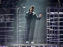 The Weeknd (Dominic Lipinski/PA)