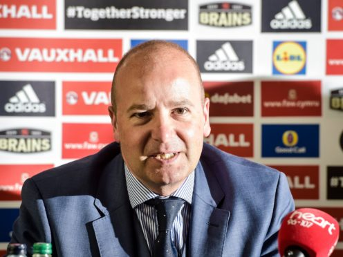 The future of Football Association Wales chief executive Jonathan Ford is in doubt (Ben Birchall/PA)