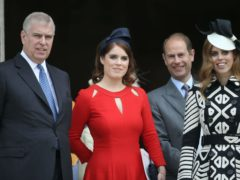 Princess Eugenie's baby is 11th in line to the throne (Steve Parsons/PA)