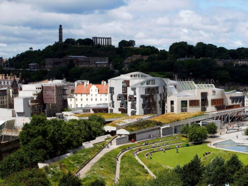 MSPs debated local government funding (Jane Barlow/PA)