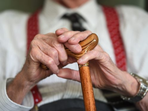 The Scottish Government has issued guidance for the restart of care home visits (Joe Giddens/PA)
