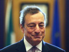 Mario Draghi (Brian Lawless/PA)