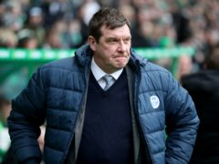 Tommy Wright is back in management at Kilmarnock (Jane Barlow/PA)