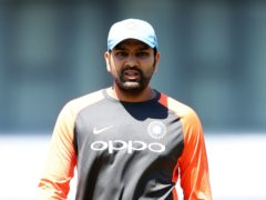 Rohit Sharma helped India record a 10-wicket win over England (Simon Cooper/PA)