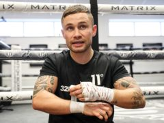 Carl Frampton admitted he has thought more about the topic of dementia recently (Martin Rickett/PA)