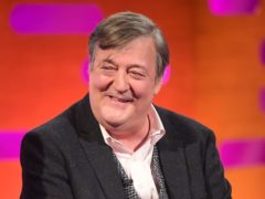 Stephen Fry said there was 'no right or wrong way' to get through the pandemic (Ian West/PA)