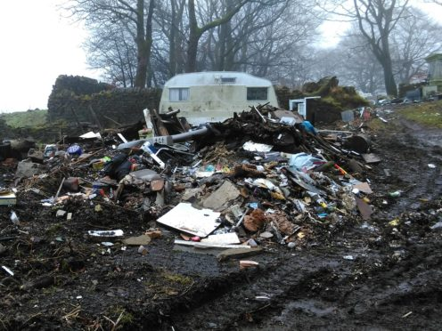 Just 12 people have ben reported for flytipping in the last two years (Woodland Trust/PA)