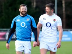 Elliot Daly (left) joined Saracens to learn from Owen Farrell (right) (Liam McBurney/PA)