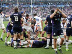 France v Scotland may yet be postponed (Adam Davy/PA)