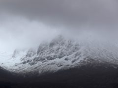 The men were rescued from Ben Nevis (Andrew Milligan/PA)