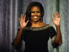 Michelle Obama will be joined by some famous faces on her new kids' cookery show (Kirsty O'Connor/PA)