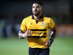 Newport captain Joss Labadie is set to return from a ban (Nigel French/PA)