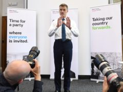 Mark Harper, leader of the Covid Recovery Group (Stefan Rousseau/PA)