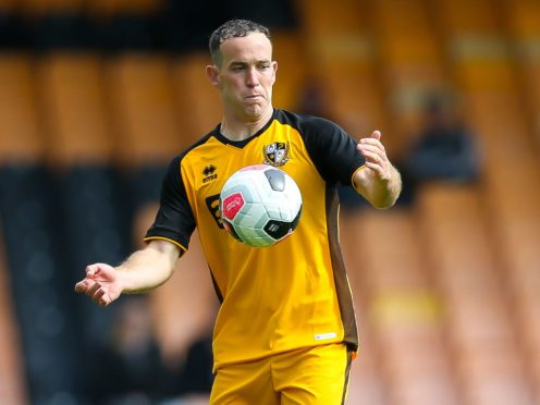 Port Vale midfielder Luke Joyce will be assessed ahead of the visit of leaders Cambridge (Barrington Coombs/PA)