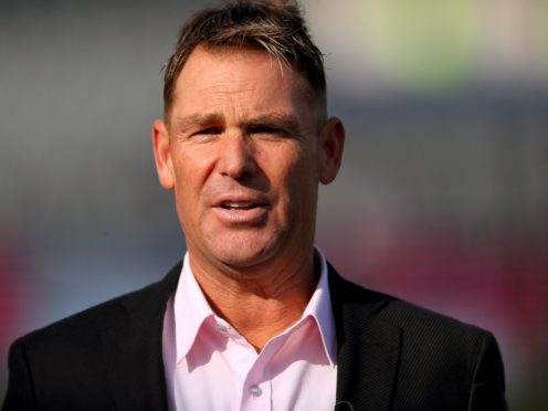 Shane Warne was banned for a year by the Australian Cricket Board in 2003 after failing a drugs test (Mike Egerton/PA)