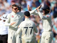 Joe Root led England to a landmark win (Mike Egerton/PA)