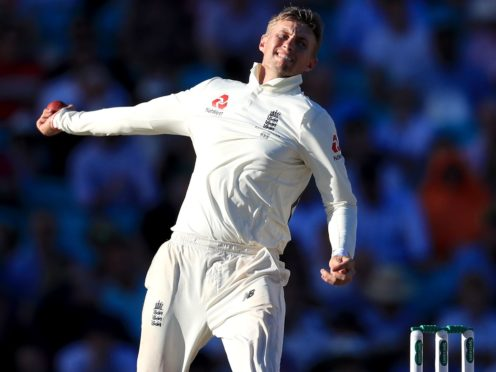 England's Joe Root bowls during day four of the fifth test match at The Kia Oval, London.