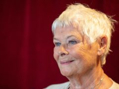 Dame Judi Dench is backing the plan for a national day of reflection (Dominic Lipinski/PA)