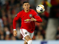 Marcos Rojo leaves Manchester United having joined the club in 2014 (Martin Rickett/PA)