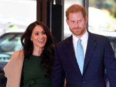 The Duke and Duchess of Sussex have been stripped of their prestigious patronages as the couple confirmed Megxit was permanent (Toby Melville/PA)
