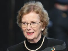 """Ex-UN human rights envoy Mary Robinson said she felt """"horribly tricked"""" over an alleged royal hostage ordeal in the Middle East (Brian Lawless/PA)"""