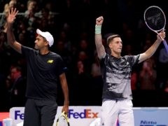 Joe Salisbury (right) and Rajeev Ram are bidding for back-to-back Australian Open titles (John Walton/PA)
