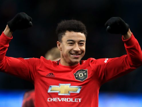Jesse Lingard has joined West ham on loan (Mike Egerton/PA)