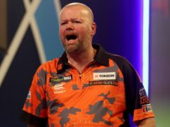 Raymond van Barneveld won the Players Championship on his return to professional darts. (Bradley Collyer/PA)