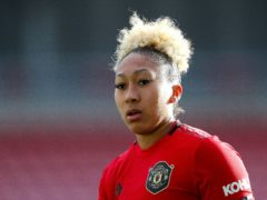 Manchester United's Lauren James has suffered online racist abuse (Barry Coombs/PA)