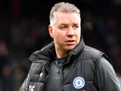 Peterborough manager Darren Ferguson praised his side's character after beating Wigan (Tim Goode/PA)