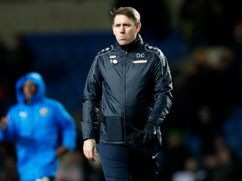Hartlepool boss Dave Challinor will feel his side should have won (Darren Staples/PA)