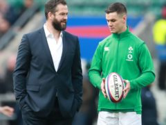 Ireland head coach Andy Farrell, left, has no concerns about the desire of captain Johnny Sexton, right (Adam Davy/PA)