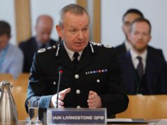 The chief constable said he will co-operate fully with any inquiry set up to investigate (Andrew Cowan/Scottish Parliament/PA)