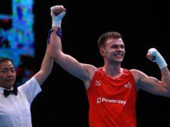 Lewis Richardson was the last Tokyo hopeful to box before lockdown struck (Adam Davy/PA)
