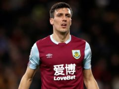 Jack Cork is doubtful for the game against Bournemouth (Martin Rickett/PA)
