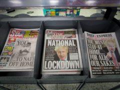 Newspaper editors raise concerns over Government's FOI handling (David Davies/PA)