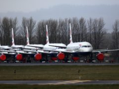 AGS Airports said they need more support (Andrew Milligan/PA)