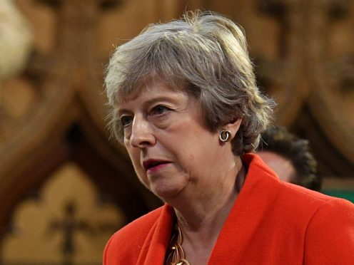 Theresa May has received her first Covid-19 jab (Daniel Leal-Olivas/PA)