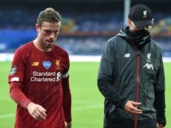 Jordan Henderson, left, is eager to take some of the burden off Jurgen Klopp's shoulders at Liverpool (Peter Powell/NMC Pool/PA)