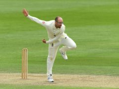 England's Jack Leach saw two controversial umpiring decisions go against him (Stu Forster/Pool/PA).