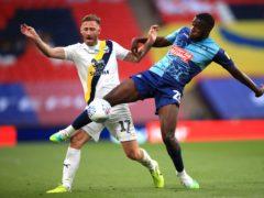 Nnamdi Ofoborh helped Wycombe win promotion from Sky Bet League One last season (Adam Davy/PA)
