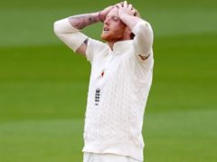 England are staring at defeat in Chennai (Jon Super/NMC Pool/PA)