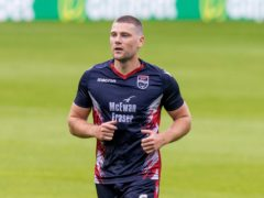 There are positive vibes at Ross County, says captain Iain Vigurs (Jeff Holmes/PA)