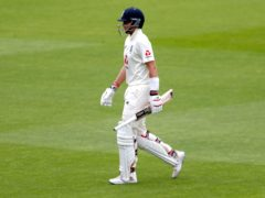 Joe Root was one of four cheap wickets to fall before lunch (Lee Smith/PA)