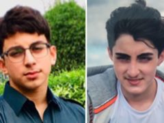 Muhammad Azhar Shabbir, 18, (left) and Ali Athar Shabbir, 16, from Dewsbury (Lancashire Constabulary/PA)