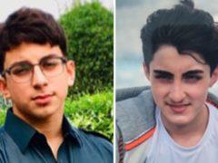 Muhammad Azhar Shabbir, 18, (left) and Ali Athar Shabbir, 16, from Dewsbury (Lancashire Constabulary/PA)