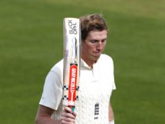 """Zak Crawley suffered a """"real freak accident"""" in Chennai I (Alastair Grant/PA)"""