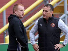 Micky Mellon empathised with departed Celtic boss Neil Lennon, left