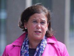 Sinn Fein leader Mary Lou McDonald has said the UK should share any spare coronavirus vaccinations with Ireland (Niall Carson/PA)
